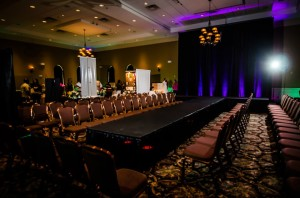 Runway Drape Lighting